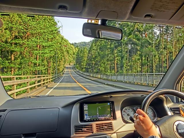 ドライブ風景の写真