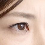 眉毛の写真