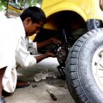 車修理の写真