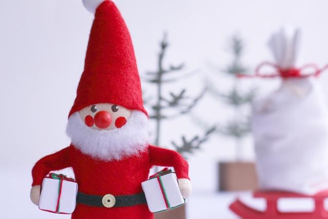 サンタの写真